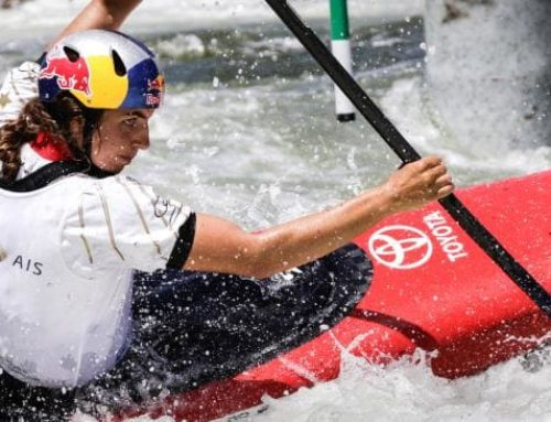 Australia's Jess Fox quick to return to top form after break from slalom paddling